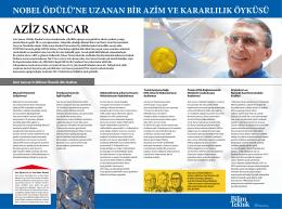 Prof. Dr. Aziz Sancar - Bilim Teknik
