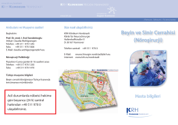 Beyin ve Sinir Cerrahisi - Klinikum Region Hannover GmbH