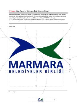 Kurumsal Kimlik ile İlgili Logo Ölçüm ve Renk Kullanım İlkeleri