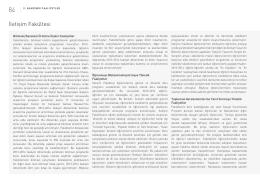 İletişim Fakültesi Faaliyet Raporu 2014