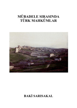 mübadele sırasında türk mahkûmlar