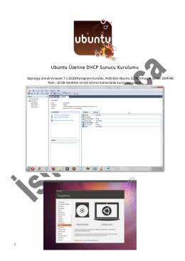 Ubuntu Üzerine DHCP Sunucu Kurulumu