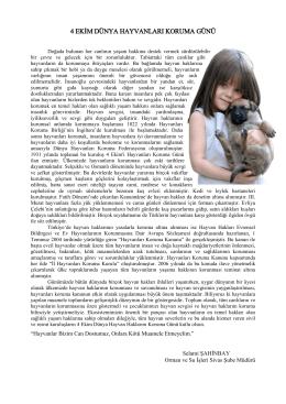 Basın Açıklaması - Sivas Şube Müdürlüğü