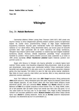 94- Vikingler - Haluk Berkmen