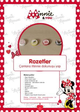 Bu Minnie ilhamlı rozetlerle çantanı farklılaştır Rozetler