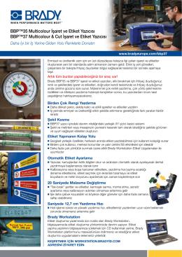 BBP™35 Multicolour İşaret ve Etiket Yazıcısı BBP