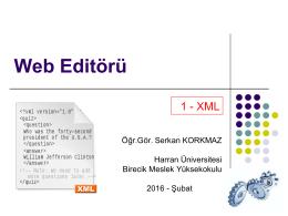 Web Editörü - Birecik Meslek Yüksekokulu