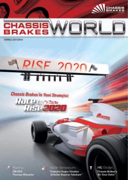Sayı 9 - 2015 - Temmuz - Chassis Brakes International Türkiye