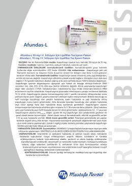 Afundas-L - Mustafa Nevzat İlaç Sanayi