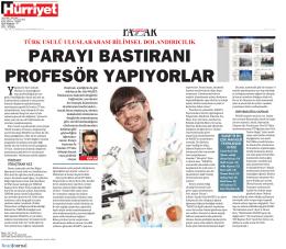 Türk Usulü Uluslararası Bilimsel Dolandırıcılık