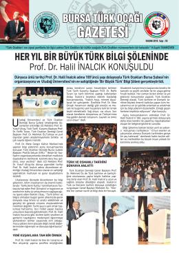 kasım 2015 - türk ocakları bursa şubesi