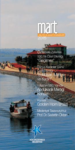 2015 Mart - Cennet Kültür ve Sanat Merkezi