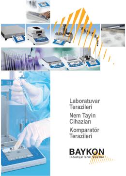 Laboratuvar Terazileri Nem Tayin Cihazları