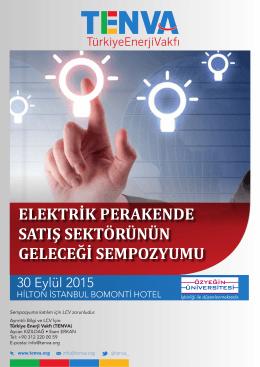 elektrik perakende satış sektörünün geleceği sempozyumu