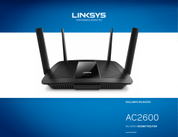 User guide - Linksys Mu-Mimo Gigabit Router EA8500