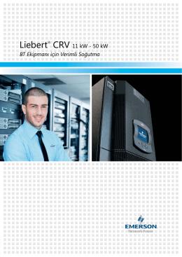 BT Ekipmanı için Verimli Soğutma Liebert® CRV 11 kW