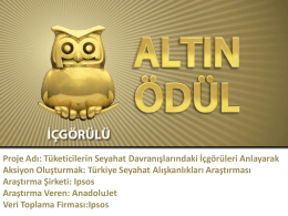 Altın Ödül - Ipsos