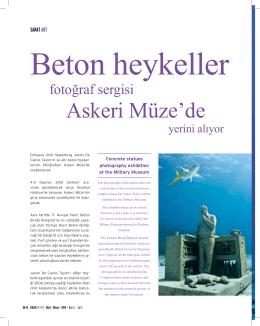 Sanat - Türkiye Hazır Beton Birliği