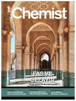 Ocak-Şubat 2014 Sayı 35 Chemist
