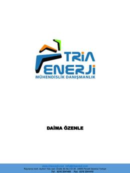 tria enerji sunum