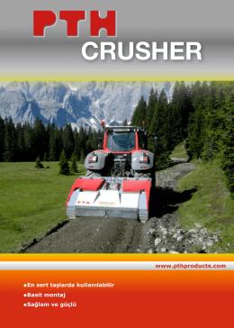 crusher - PTH PRODUCTS MASCHINENBAU GMBH in Neuberg