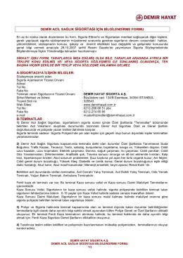 demir acil sağlık sigortası için bilgilendirme formu 02