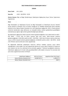 Cyprus Wireless Solutions Ltd, Netser İletişim Hizmetleri Ltd