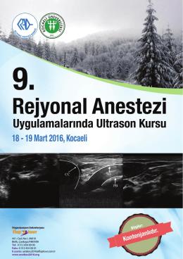 Untitled - Rejyonal Anestezi Derneği