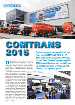 COMTRANS 2015 COMTRANS 2015