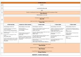 15 MAYIS 2013 Ravi Kumar KOKTEYL (19:00-21:00