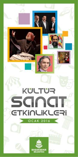 OCAK 2016 - Başakşehir Belediyesi