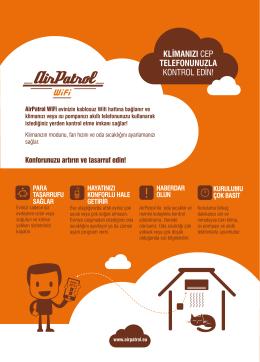 AirPatrol WiFi TR web