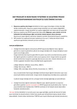 biygp - Uludağ Üniversitesi