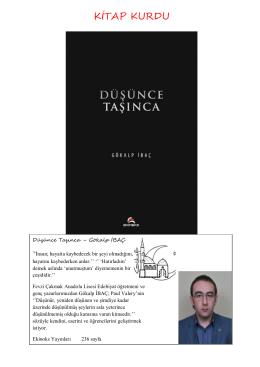 KİTAP KURDU - Fevzi Çakmak Anadolu Lisesi