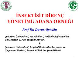 Prof. Dr. Davut ALPTEKİN