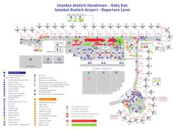Gidiş Katı Istanbul Atatürk Airport - Departure Level