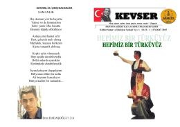 Okul Dergimiz - ERZURUM - AZİZİYE