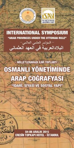 Osmanlı YönetimindeArap Yarımadası Sosyal