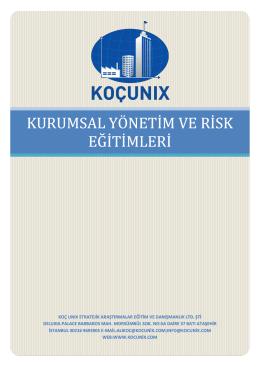 koc unıx reel sektör kurumsal yönetim ve risk eğitimleri