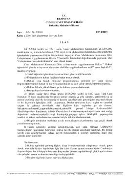 T.C. ERZİNCAN CUMHURİYET BAŞSAVCILIĞI