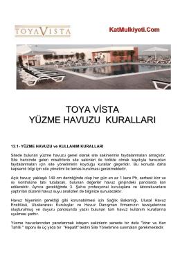 İndir - Toya Vista Site Yönetimi