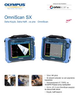 OmniScan SX- Türkçe - Epsilon-NDT