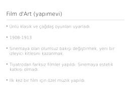 Film d`Art (yapımevi) - mehmetarslantepe.net