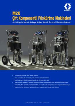 345065TR M2K Çift Komponentli Püskürtme Makineleri