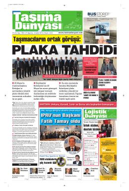 İstanbul Servis Taşımacılığı PLAKA TAHDİTİ DOSYASI Taşıma