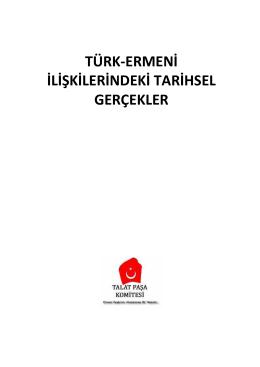 türk-ermeni ilişkilerindeki tarihsel gerçekler