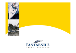 Pantaenius Kimdir? - Mare Yachting & Consultancy Home Page