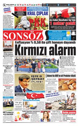 KRAL ÇIPLAK - Sonsöz Gazetesi