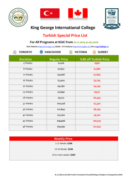 King George Interna nal College