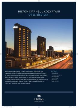 katalog - Hilton Türkiye